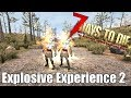 7 Days to Die - Do Explosives Give Experience 2 - Molotovs, Gas Barrels, Chain Reactions