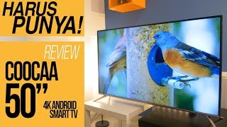 "REVIEW COOCAA (KUKA) ANDROID TV 50"" 4K HDR - INDONESIA (Model: 50S5G)"