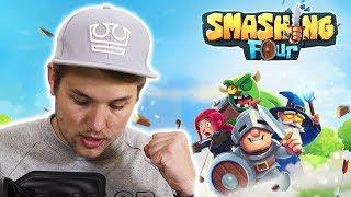 Nová mobilní hra SMASHING FOUR