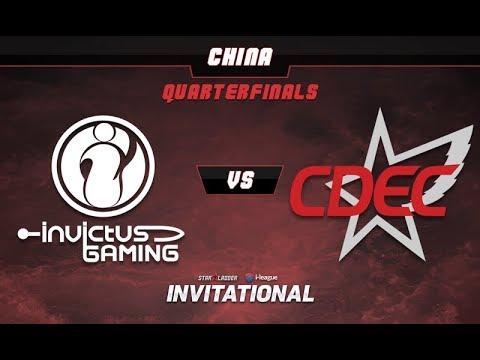 iG vs CDEC - SL-i Invitational: CN Qualifier G1