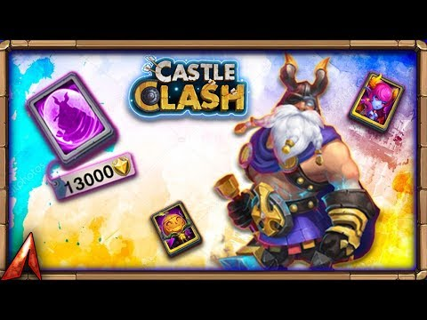 F2P Legendary Hero Card! Castle Clash