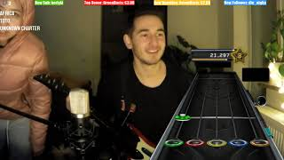 First Try Guitar Hero 🔥💯