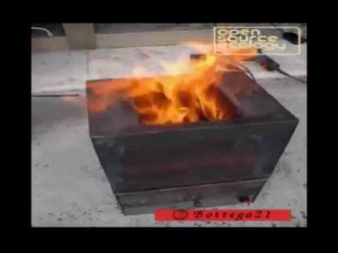 Stufa a pirolisi youtube for Costruire stufa pirolisi