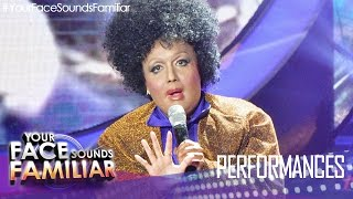 "Your Face Sounds Familiar: Kakai Bautista as Jennifer Holliday - ""And I"