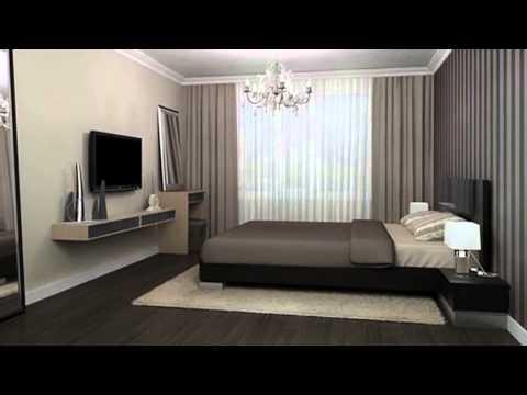 Как разместить телевизор в спальне