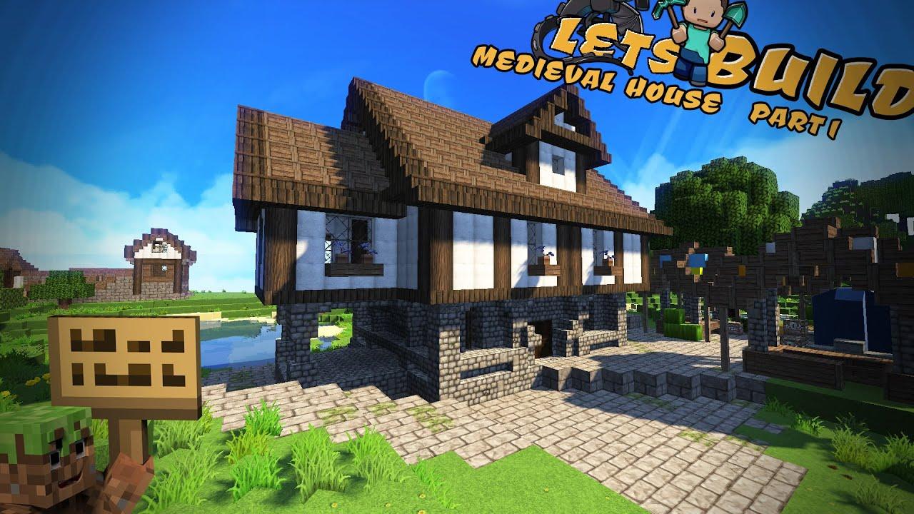 Minecraft Spielen Deutsch Minecraft Mittelalter Haus Schematic Bild - Hauser in minecraft einfugen
