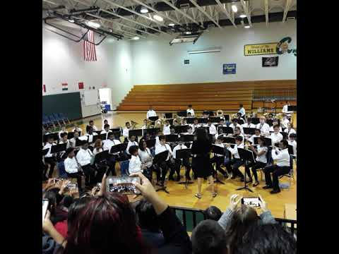 WILLIAMS MIDDLE MAGNET SCHOOL 7TH GRADE CONCERT 2018