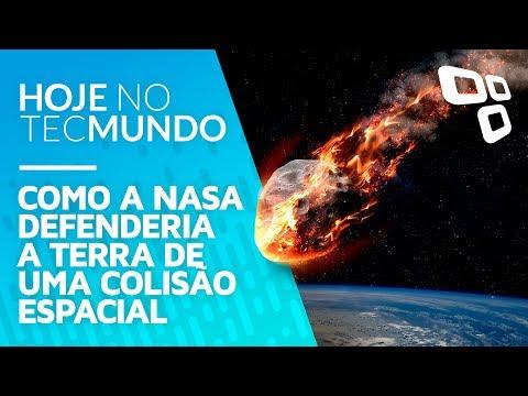 Como a NASA defenderia a Terra de uma colisão espacial - Hoje no TecMundo