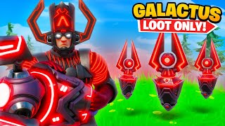 The *GALACTUS* LOOT ONLY Challenge