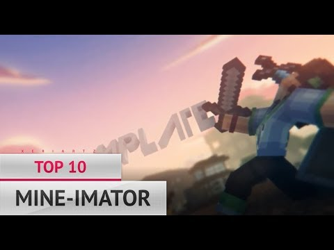 😍 FREE 😍 TOP 10 MINE-IMATOR INTRO TEMPLATES