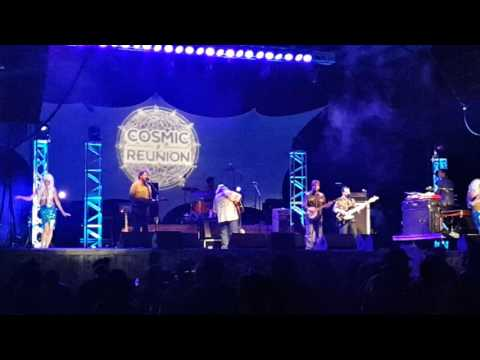 Leftover Salmon - Tangled Up In Blue at Cosmic Reunion 2016