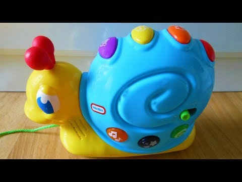 PULL LINE CARTOON SNAIL WITH MUSIC