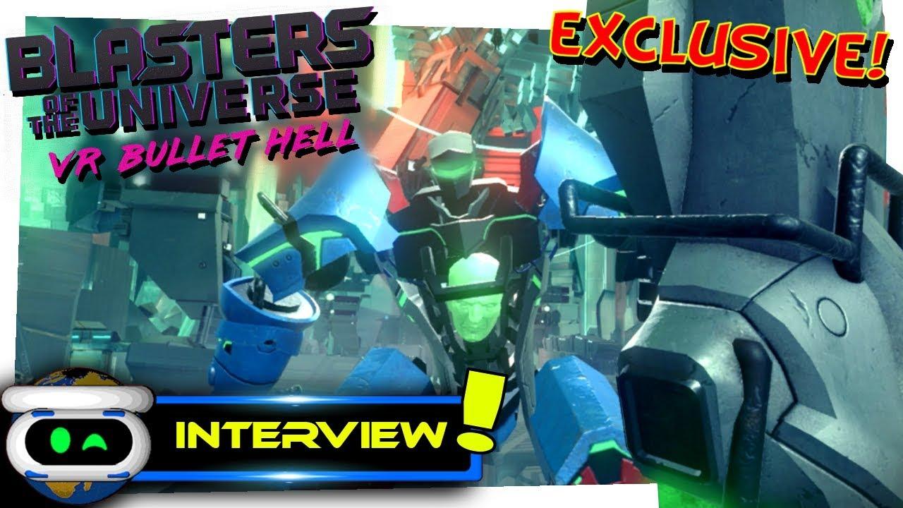 Blasters of the Universe PSVR Developer Interview!