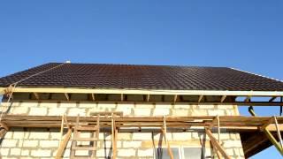 Крыша закончена, получилось очень красиво
