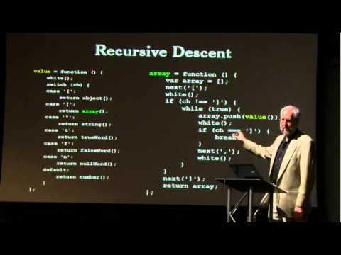 Crockford on Javascript - Functions