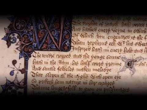 Canterbury Tales, lines 1-42