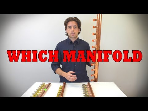 PEX Copper Manifold Options | Sioux Chief
