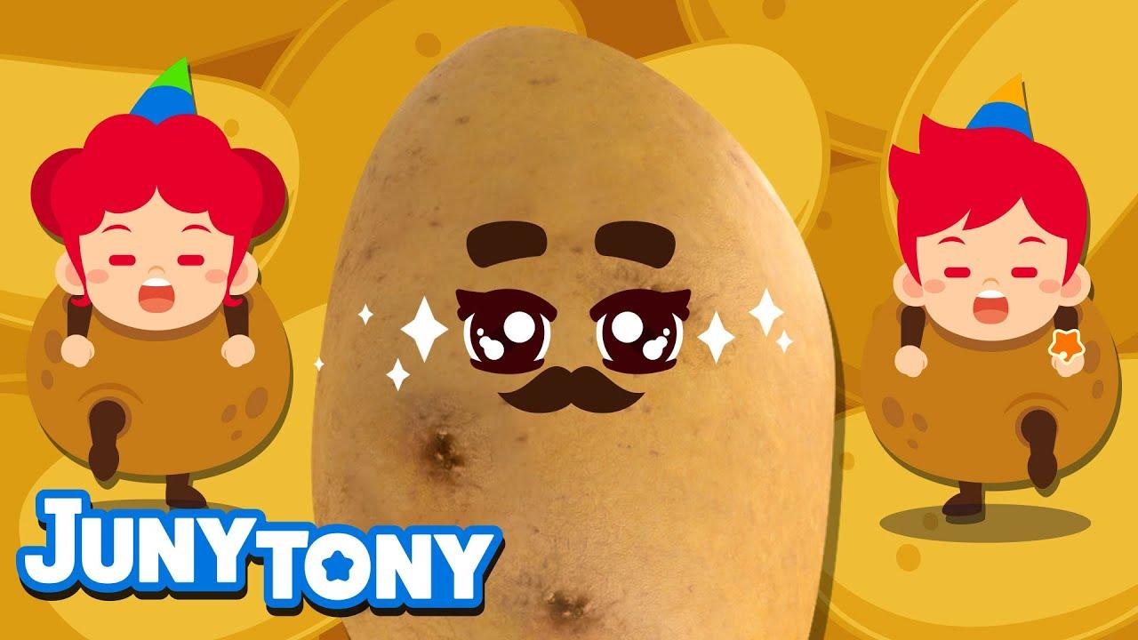Potato Chips Song | Potato Dance | Food Songs for Kids | Silly Songs | Preschool Songs | JunyTony