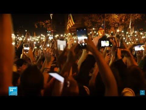 عودة المظاهرات السلمية إلى إقليم كتالونيا بعد أيام من أعمال العنف  - نشر قبل 2 ساعة