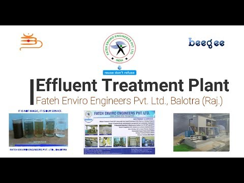Working Procedure Of Effluent treatment Plant (ETP) | Treatment of Waste Water | ETP | How.