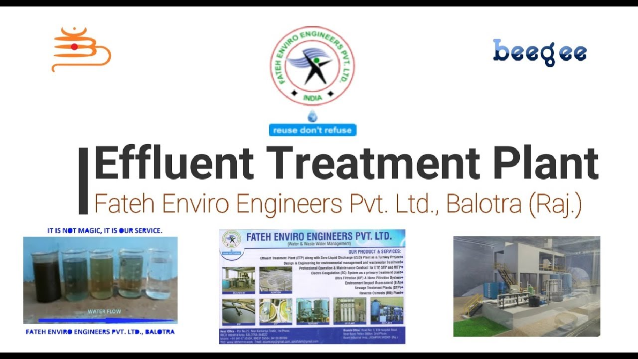 Working Procedure Of Effluent Treatment Plant Etp Treatment Of Waste Water Etp How Youtube