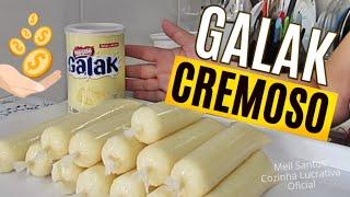 Geladinho Cremoso De Galak