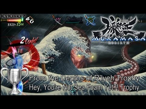 Muramasa Rebirth - Sea Monster (Octopus) & Mermaid Trophy Guide