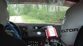 Kankaanpään Seutu ralli 2006, ek5, Pasi Erkkilä, Toyota Corolla 1600GT