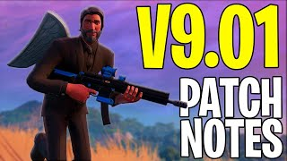 FORTNITE TACTICAL ASSAULT RIFLE GAMEPLAY - Drum Gun Nerfed Update - Baller Nerfed! V9.01 PATCH