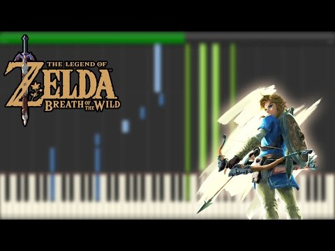 The Legend of Zelda: Breath of The Wild - Main Theme [Synthesia]