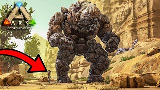 I TAKO SAM PRIPITOMIO ROCK ELEMENTALA! - (Ark Survival Evolved) Scorched Earth