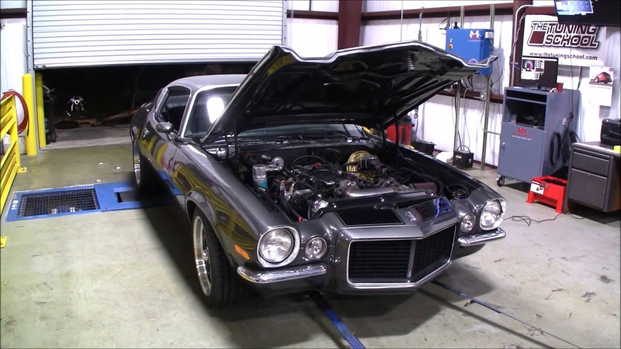 70 Camaro With Ls Swap At Hp Motorsports For A Dyno Pull