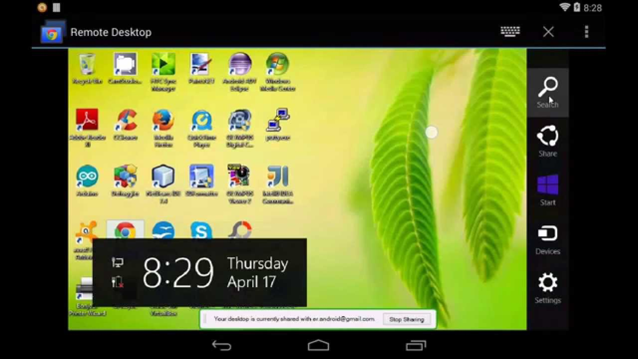 Phone Remote Desktop Using Android Phone access shared computer using chrome remote desktop app on android android