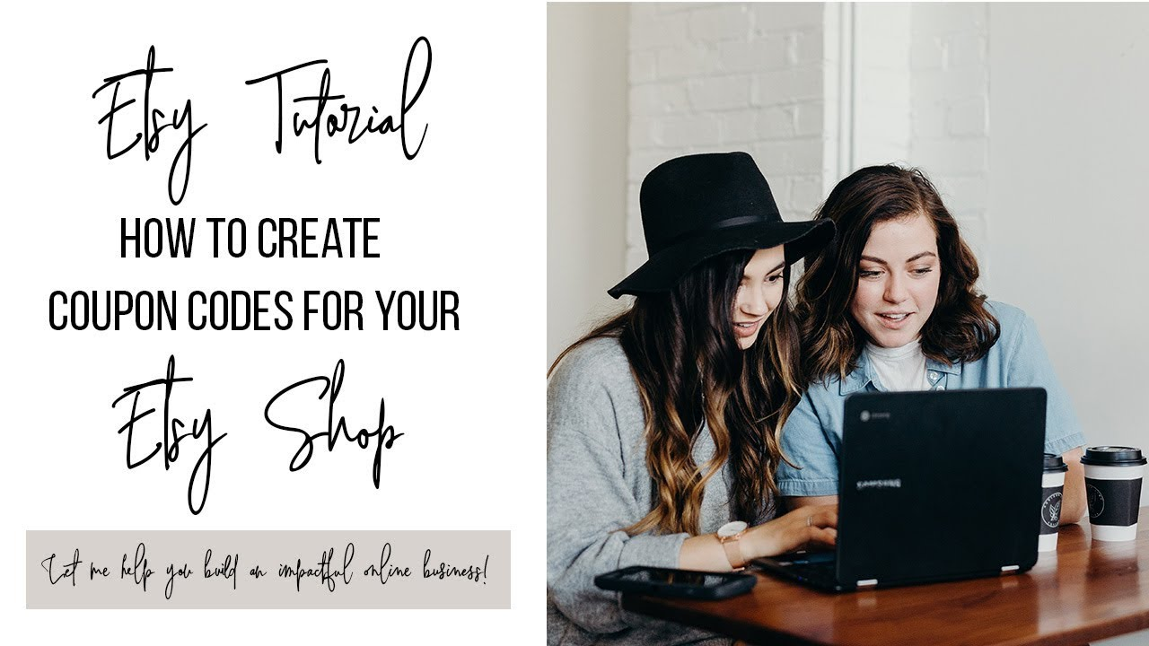 How To Create Coupon Codes for Your Etsy Shop | Re-Market Your Existing Customers
