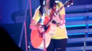 Demi Lovato-Two Worlds Collide 6/24/09