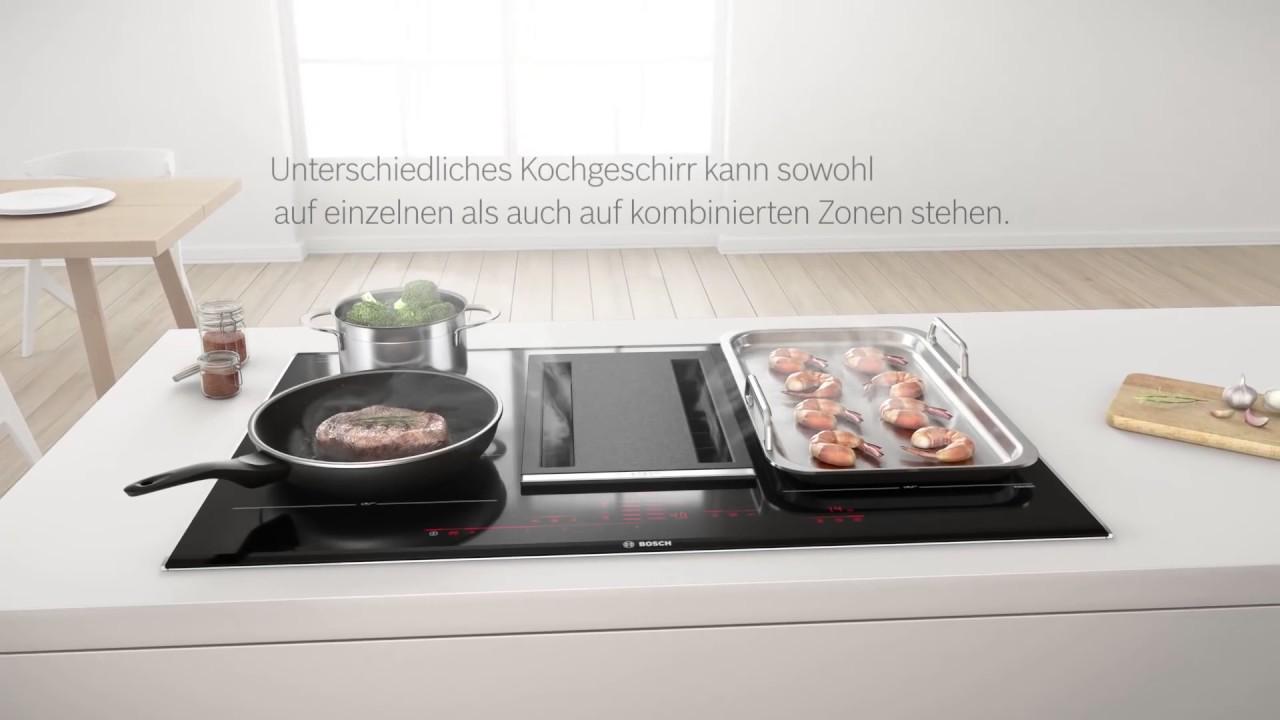 Kochfeld Mit Integriertem Dunstabzug Von Bosch