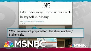 Despite Focus On New York, Coronavirus Is A National Crisis | Rachel Maddow | MSNBC