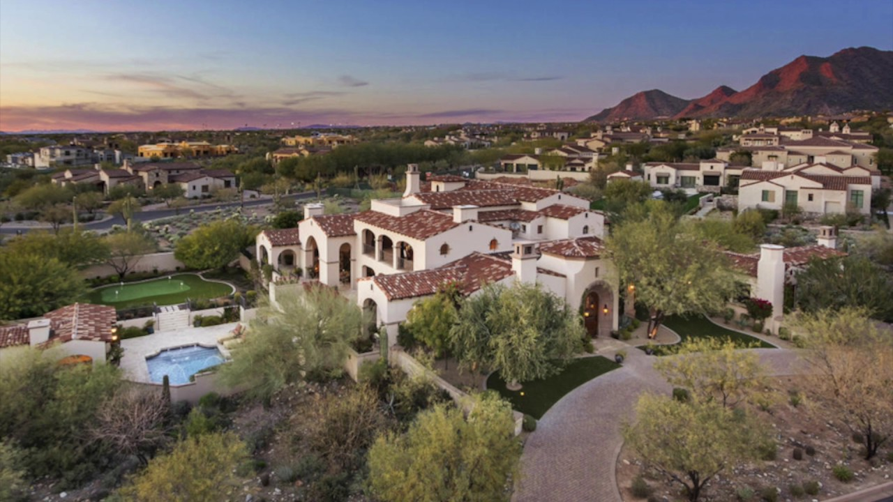 top 10 most expensive homes sold in phoenix 1/16/2017 to 1/23/2017