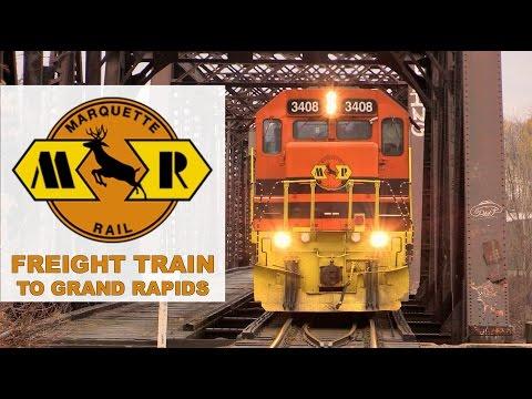 Marquette Rail: Freight Train to Grand Rapids