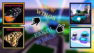 EARTH IS BACK! NEW BUTTERFLY WINGS! - Royale🏰High - Roblox