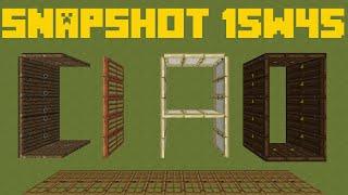 """[EL1193] MineCraft 1.9: SnapShot 15W45A """"Le Mappe ci Fanno CIAO"""""""