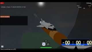 Hubble Space Telescope launch on Roblox-Part 1