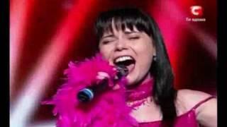Gambar cover X-factor Ukraine 2010 - Oksana Shavkun - New York(Frank Sinatra - Liza Minelli)