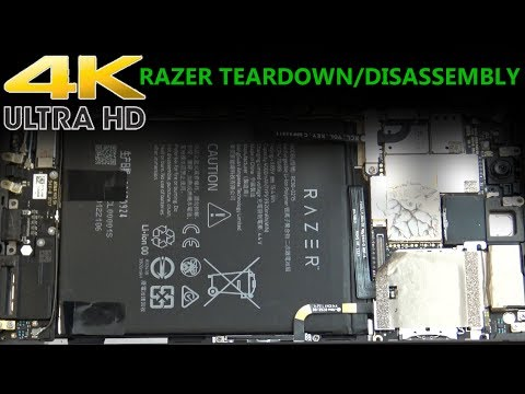 2017 Razer Gaming Smartphone Teardown Disassembly Repair Video RZ35-0215