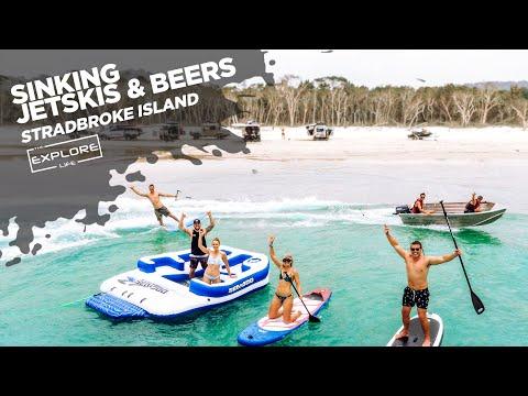 BEACH, BEERS & BOATING -STRADBROKE ISLAND - THE EXPLORE LIFE    S2 EP10