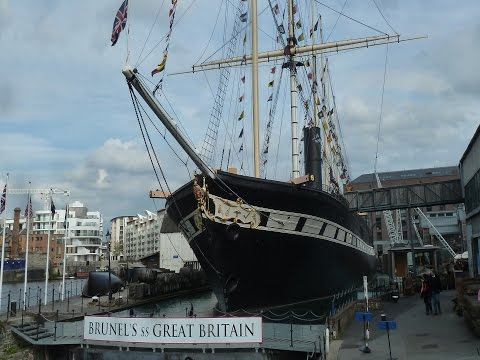 SS Great Britain, A tour of Brunel's Great Ocean Liner. Bristol, UK