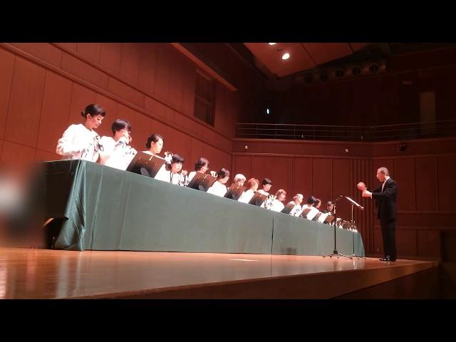Handbell ハンドベル The First Noel, Kobe YMCA Bell-choir (Dir. Nozomu Abe) 2017 Dec