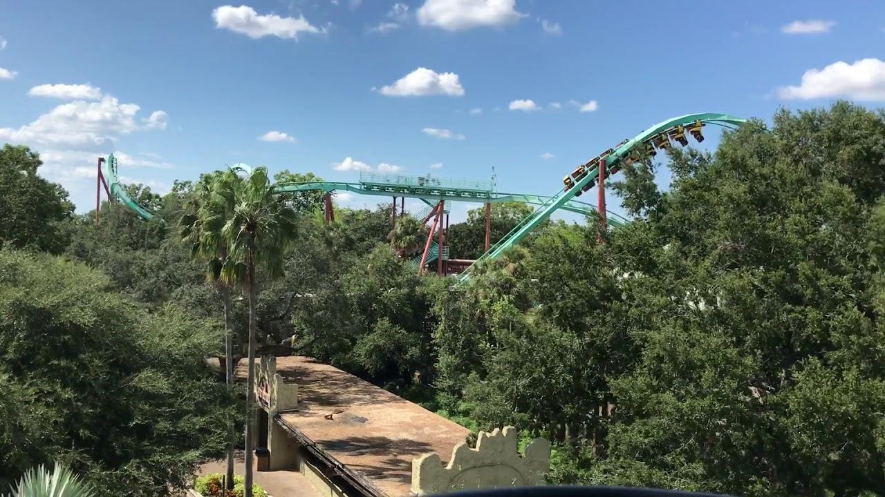 Busch Gardens Tampa Bay   Skyride U0026 Skylift Ride