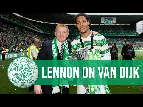 🌟 Celtic manager Neil Lennon says Liverpool's Virgil van Dijk is the best centre-half in the world!