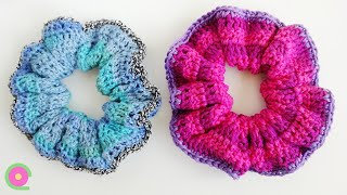 Crochet your own hair scrunchies with this step by step tutorial. Learn to make an easy DIY scrunchie for your hair. Subscribe for more free tips, tutorials and ...